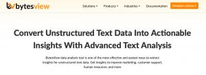 BytesView - text analysis tool